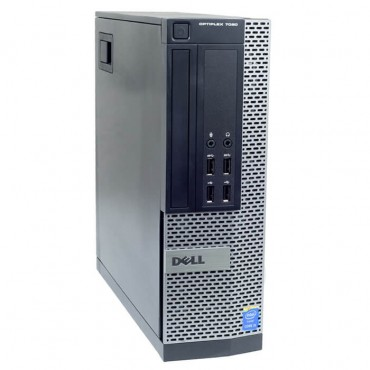 Компютър DELL OptiPlex 7020 с процесор Intel Core i3, 4160 3600MHz 3MB 2 cores, 4 threads, RAM 4096MB DDR3, 500 GB SATA, А клас