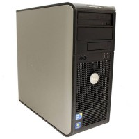 Компютър DELL OptiPlex 760 с процесор Intel Core 2 Duo, E7500 2930Mhz 3MB, RAM 2048MB DDR2, 80 GB SATA, А клас
