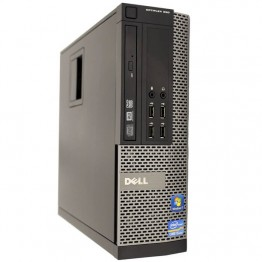 Компютър DELL OptiPlex 790 с процесор Intel Core i3, 2120 3300Mhz 3MB 2 cores, 4 threads, RAM 4096MB DDR3, 250 GB SATA, А клас