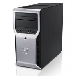Компютър DELL Precision T1600 с процесор Intel Xeon Quad Core E3, 1225 3100Mhz 6MB, RAM 8192MB DDR3, 500 GB 3.5