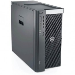 Компютър DELL Precision T5600 с процесор Intel Xeon Quad Core E5, 2643 3300MHz 10MB, RAM 16GB DDR3 Registered, 500 GB 3.5