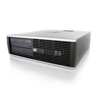 Компютър HP Compaq 6000 Pro SFF с процесор Intel Core 2 Duo, E8500 3160Mhz 6MB, RAM 4096MB DDR3, 250 GB SATA, A- клас