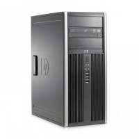 Компютър HP Compaq Elite 8000CMT с процесор Intel Core 2 Duo, E8500 3160Mhz 6MB, RAM 4096MB DDR3, 250 GB SATA, А клас