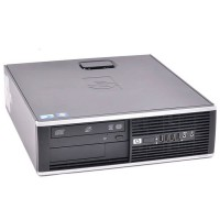 Компютър HP Compaq Elite 8000SFF с процесор Intel Core 2 Duo, E8400 3000Mhz 6MB, RAM 4096MB DDR3, 250 GB SATA, А клас