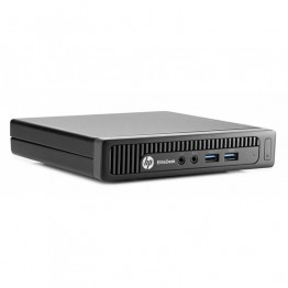 Компютър HP EliteDesk 800 G1 DM с процесор Intel Core i7, 4785T 2200MHz 8MB 4 cores, 8 threads, RAM 8192MB So-Dimm DDR3L, 128 GB 2.5 Inch SSD, А клас