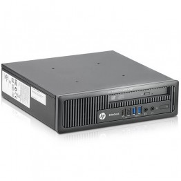 Компютър HP EliteDesk 800 G1 USDT с процесор Intel Core i7, 4770S 3100MHz 8MB 4 cores, 8 threads, RAM 8192MB So-Dimm DDR3, 128 GB 2.5 Inch SSD, А клас