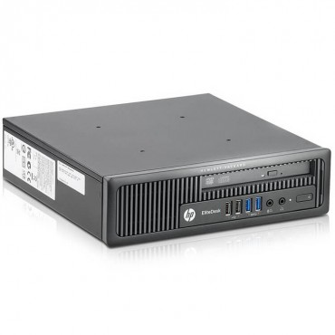 Компютър HP EliteDesk 800 G1 USDT с процесор Intel Core i5, 4570S 2900Mhz 6MB 4 cores, 4 threads, RAM 4096MB So-Dimm DDR3L, 128 GB 2.5 Inch SSD, А клас