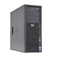 Компютър HP Workstation Z200 с процесор Intel Xeon Quad Core, X3450 2660Mhz 8MB, RAM 8192MB DDR3 ECC, 500 GB 3.5