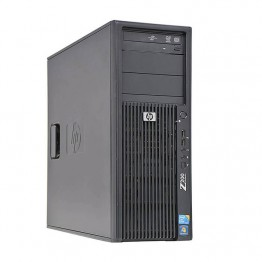 Компютър HP Workstation Z200 с процесор Intel Core i5, 650 3200Mhz 4MB 2 cores, 4 threads, RAM 4096MB DDR3, 500 GB 3.5