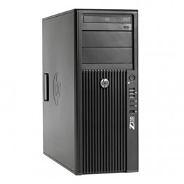 Компютър HP Workstation Z210CMT с процесор Intel Xeon Quad Core E3, 1225 3100Mhz 6MB, RAM 8192MB DDR3 ECC, 500 GB 3.5