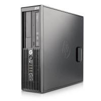 Компютър HP Workstation Z220SFF с процесор Intel Xeon Quad Core E3, 1230 v2 3300MHz 8MB, RAM 12GB DDR3, 128 GB 2.5 Inch SSD SATA 2.5