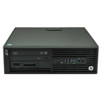 Компютър HP Workstation Z230SFF с процесор Intel Xeon Quad Core E3, 1225 v3 3200Mhz 8MB, RAM 8192MB DDR3L ECC, 500 GB 3.5