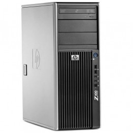 Компютър HP Workstation Z400 с процесор Intel Xeon Quad Core, W3565 3200Mhz 8MB, RAM 8192MB DDR3 ECC, 500 GB 3.5