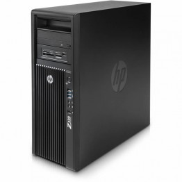 Компютър HP Workstation Z420 с процесор Intel Xeon Quad Core E5, 1603 2800MHz 10MB, RAM 16GB DDR3L ECC, 500 GB 3.5