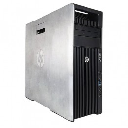 Компютър HP Workstation Z620 с процесор 2x Intel Xeon 6-Core E5, 2620 2000MHz 15MB, RAM 64GB DDR3 Registered, 1 TB 3.5
