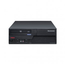 Компютър Lenovo ThinkCentre M58p с процесор Intel Core 2 Duo, E8400 3000Mhz 6MB, RAM 4096MB DDR3, 160 GB SATA, А клас