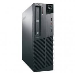 Компютър Lenovo ThinkCentre M81 с процесор Intel Core i3, 2100 3100MHz 3MB 2 cores, 4 threads, RAM 4096MB DDR3, 250 GB SATA, А клас