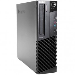 Компютър Lenovo ThinkCentre M82 с процесор Intel Core i3, 3220 3300Mhz 3MB 2 cores, 4 threads, RAM 4096MB DDR3, 250 GB SATA, А клас