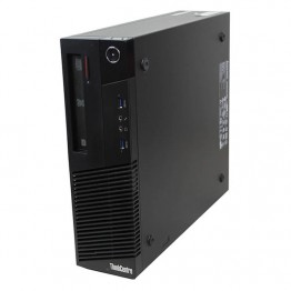 Компютър Lenovo ThinkCentre M83 с процесор Intel Core i3, 4130 3400MHz 3MB 2 cores, 4 threads, RAM 4096MB DDR3, 500 GB SATA, А клас