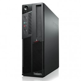 Компютър Lenovo ThinkCentre M90p с процесор Intel Core i5, 650 3200Mhz 4MB 2 cores, 4 threads, RAM 4096MB DDR3, 250 GB SATA, А клас