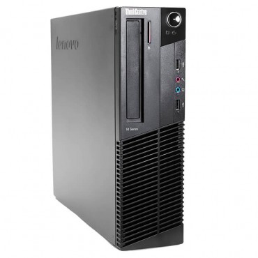 Компютър Lenovo ThinkCentre M92p с процесор Intel Core i5, 3470 3200Mhz 6MB 4 cores, 4 threads, RAM 8192MB DDR3, 250 GB SATA, А клас