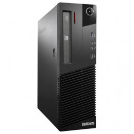 Компютър Lenovo ThinkCentre M93p с процесор Intel Core i5, 4590 3300MHz 6MB 4 cores, 4 threads, RAM 4096MB DDR3, 128 GB 2.5 Inch SSD, А клас