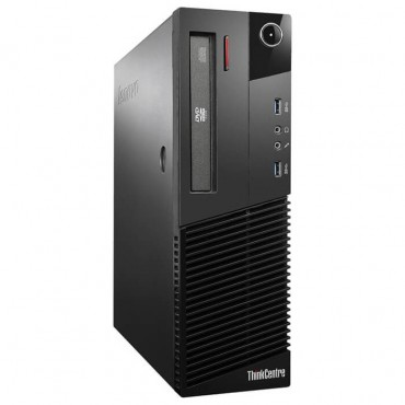 Компютър Lenovo ThinkCentre M93p с процесор Intel Core i5, 4570 3200MHz 6MB 4 cores, 4 threads, RAM 4096MB DDR3, 128 GB 2.5 Inch SSD, А клас
