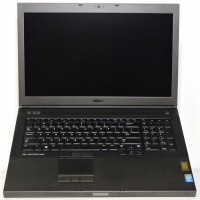 Лаптоп DELL Precision M6800 с процесор Intel Core i7, 4800MQ 2700Mhz 6MB 4 cores, 8 threads, 17.3
