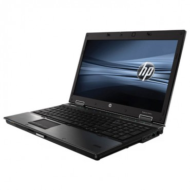 Лаптоп HP EliteBook 8540w с процесор Intel Core i7, 620M 2660Mhz 4MB 2 cores, 4 threads, 15.6