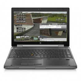 Лаптоп HP EliteBook 8570w с процесор Intel Core i7, 3520M 2900MHz 4MB 2 cores, 4 threads, 15.6