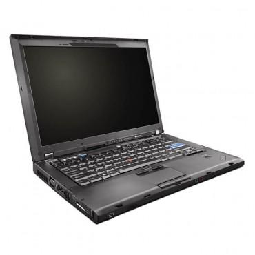 Лаптоп Lenovo ThinkPad T400 с процесор Intel Core 2 Duo, P8600 2400Mhz 3MB, 14.1