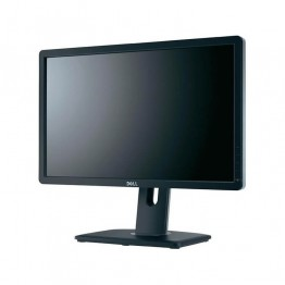 "Монитор DELL U2412M, 24"", 300 cd/m2, 1000:1, 1920x1200 WUXGA 16:10, Silver/Black, USB Hub, A- клас"
