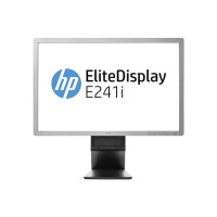 "Монитор HP EliteDisplay E241i, 24"", 250 cd/m2, 1000:1, 1920x1200 WUXGA 16:10, Silver/Black, USB Hub, А клас"
