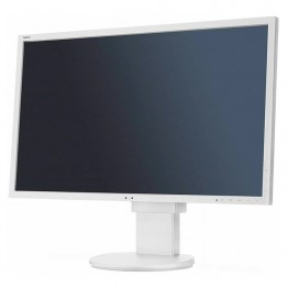 "Монитор NEC EA244WMi, 24.1"", 350 cd/qm, 1000:1, 1920x1200 WUXGA 16:10, White, Stereo Speakers + USB Hub, А клас"